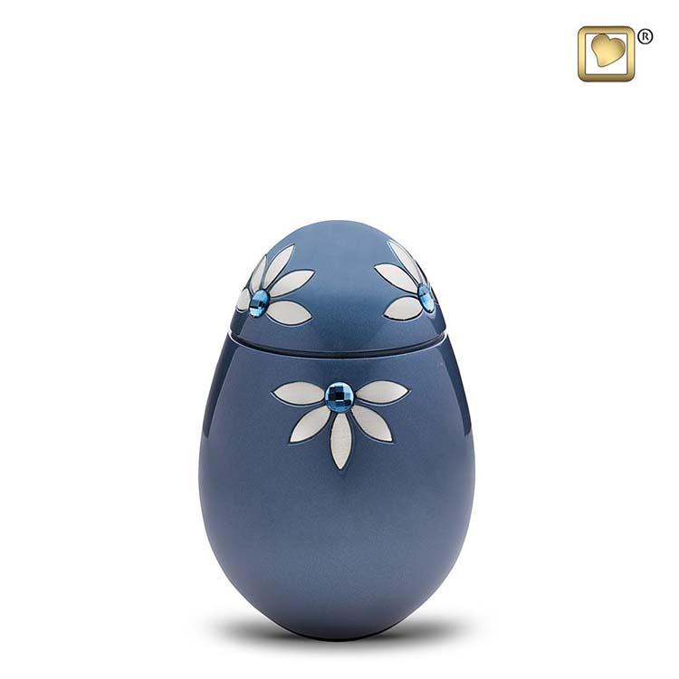 Kleine Messing Urn Nirvana Azure (0.65 liter)