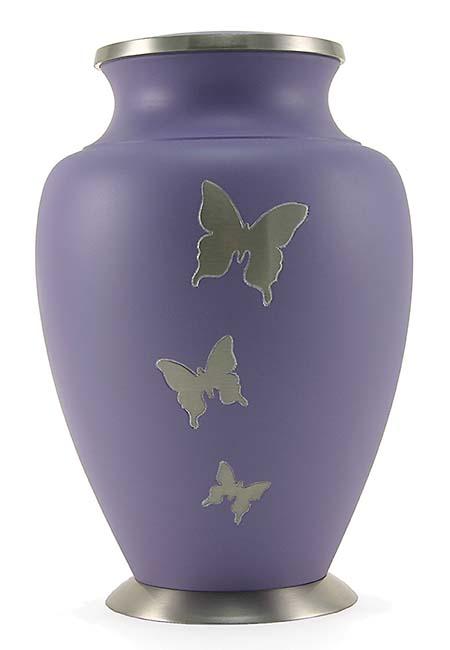 Grote Messing Aria vlinders Urn (3.5 liter)