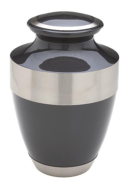 Grote Messing Urn Shiny Black (3.7 liter)