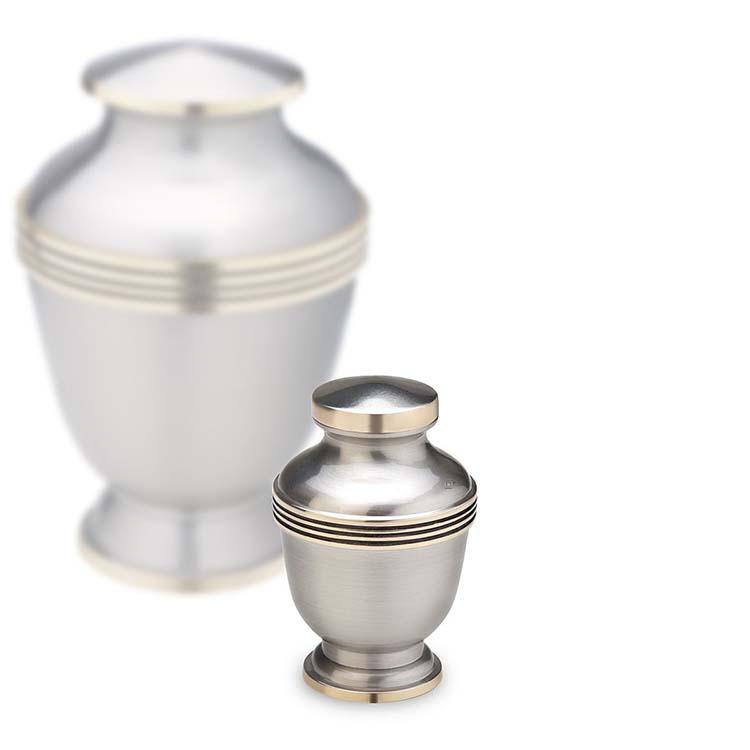 Messing Mini Urn Tin - Gouden Sierranden (0.11 liter)