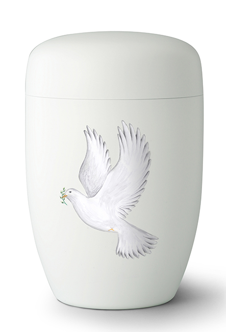 Design Urn Fly Away - Vredesduif (4 liter)
