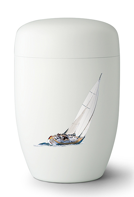 Design Urn Sail Away - Zeilboot (4 liter)