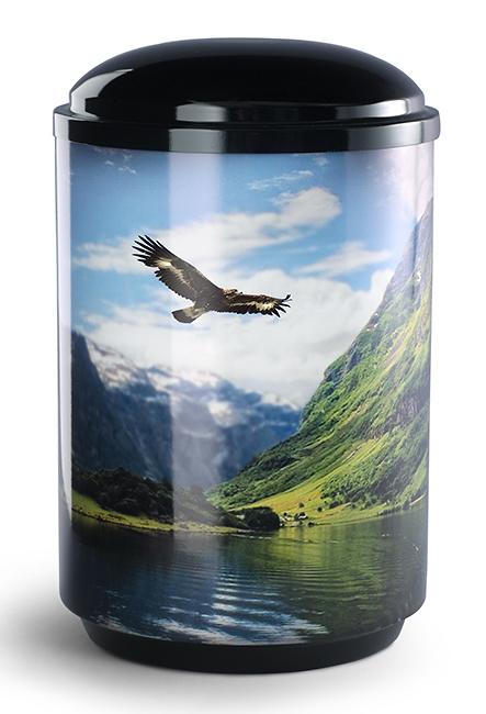 360 Graden Foto Design Urn Adelaar (4 liter)