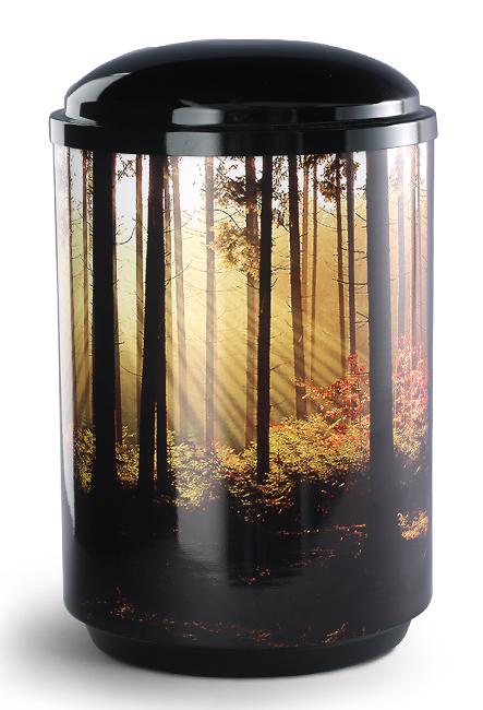 360 Graden Foto Design Urn Boslandschap (4 liter)