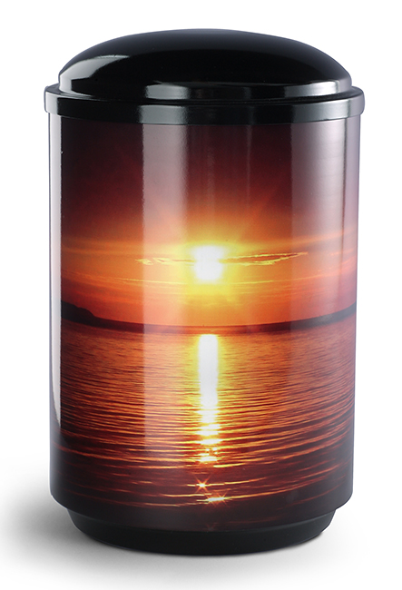 360 Graden Foto Design Urn Zonsondergang (4 liter)