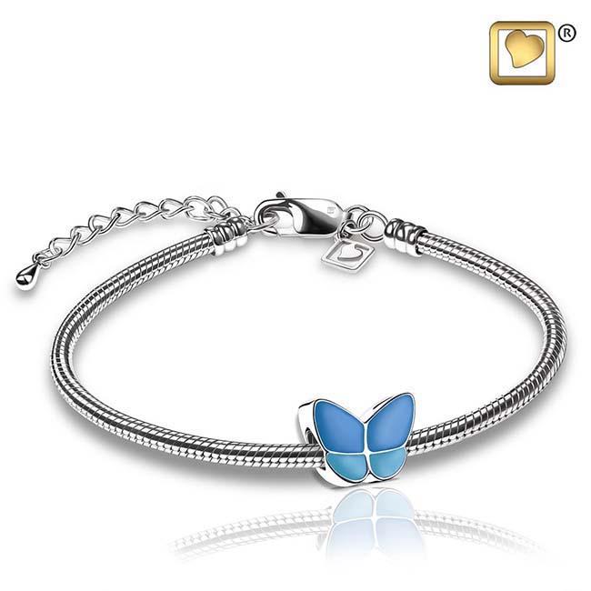 Askraal Vlinder Blauw