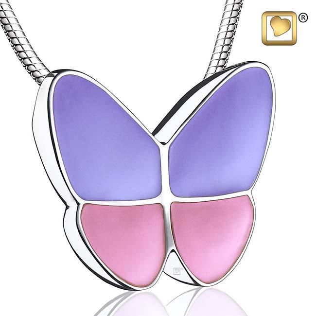 Ashanger Vlinder Lavendel inclusief Collier