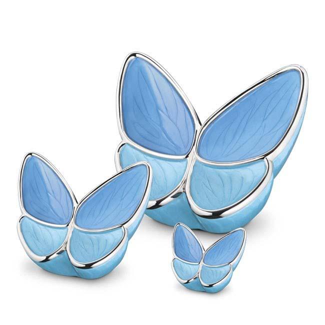Butterfly Urnen Voordeelset Blauw (3.1, 0.4 en 0.05 liter)