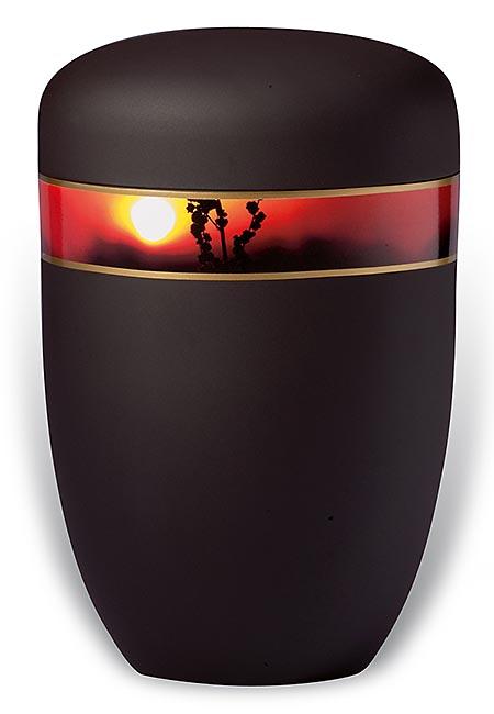 Design Urn met Decoratieband Avondrood (4 liter)