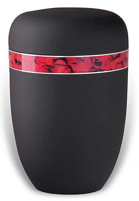 Design Urn met Decoratieband Rozenpracht (4 liter)
