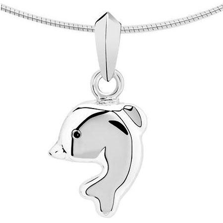 Witgouden Ashanger dolfijn