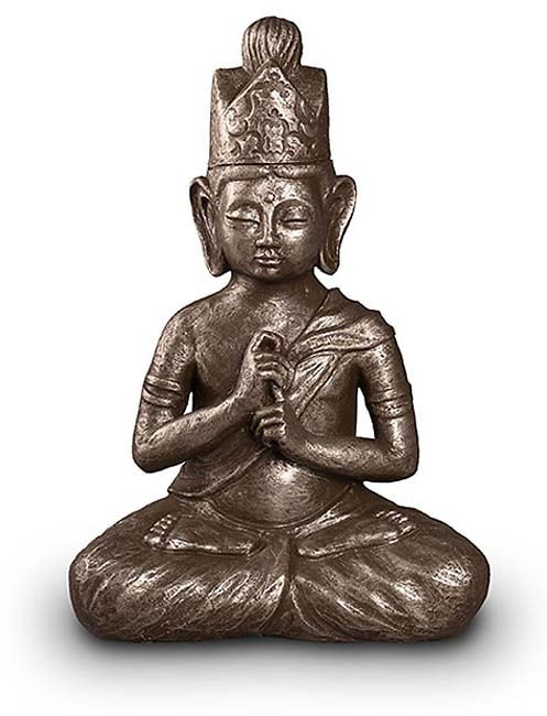 Art Urn Dai Nichi Boeddha Zilver (3.5 liter)